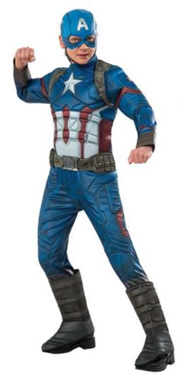 Captain America Premium Boys Costume