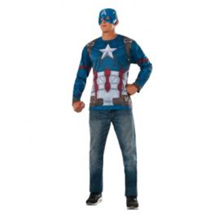 Captain America Mens Top