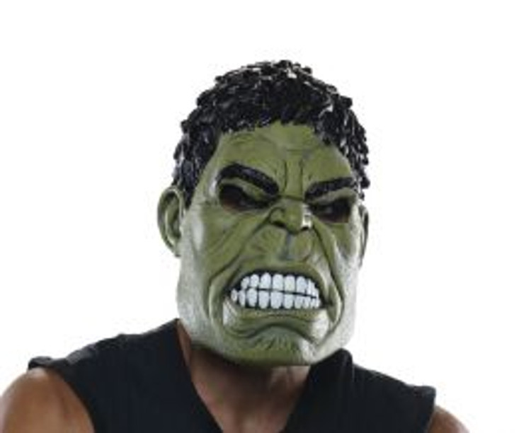 Hulk The Avengers Adult 3/4 Mask