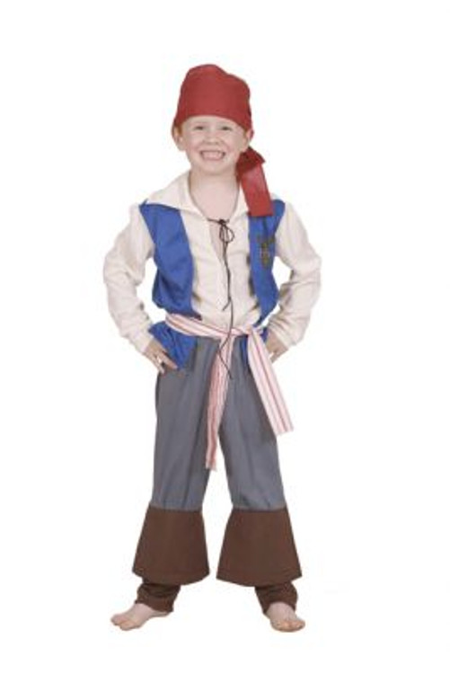 Pirates of the Caribbean Jack Sparrow Kids Costume