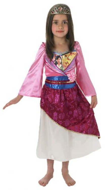Disney Mulan Shimmer Girls Costume