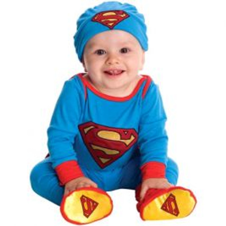Superman Superhero Toddler Onesie