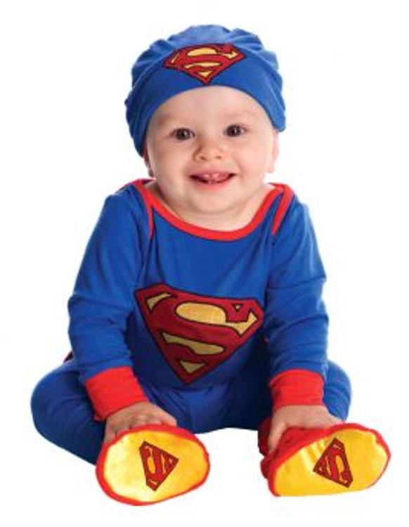 Superman Superhero Baby Onesie