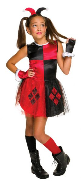Harley Quinn Girls Costume