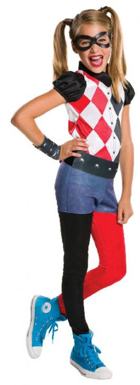 Harley Quinn DC Superhero Girls Costume