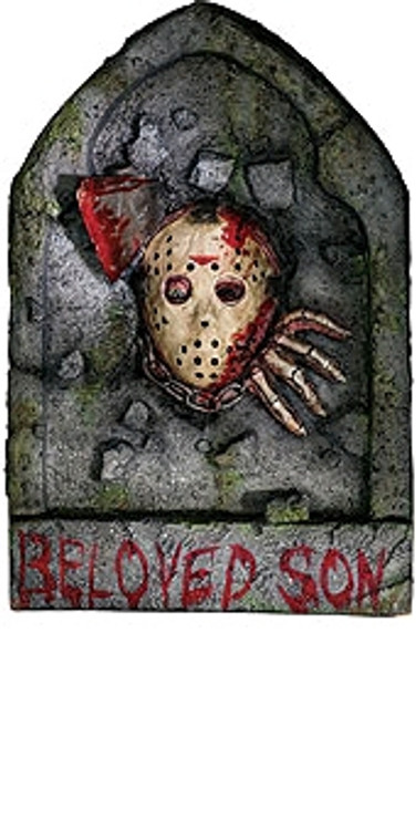 Friday the 13th Jason Vorhees Toombstone
