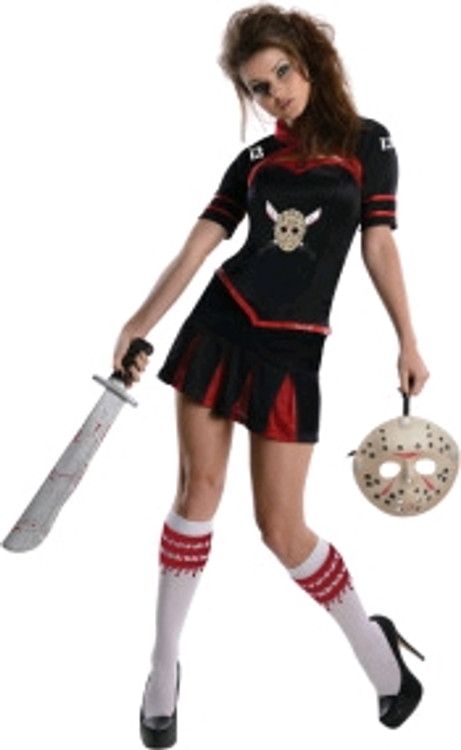 Friday the 13th Jason Cheerleader Womens Costume