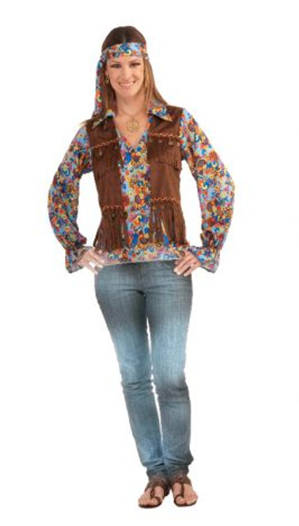 Hippie Womens Costume Kit