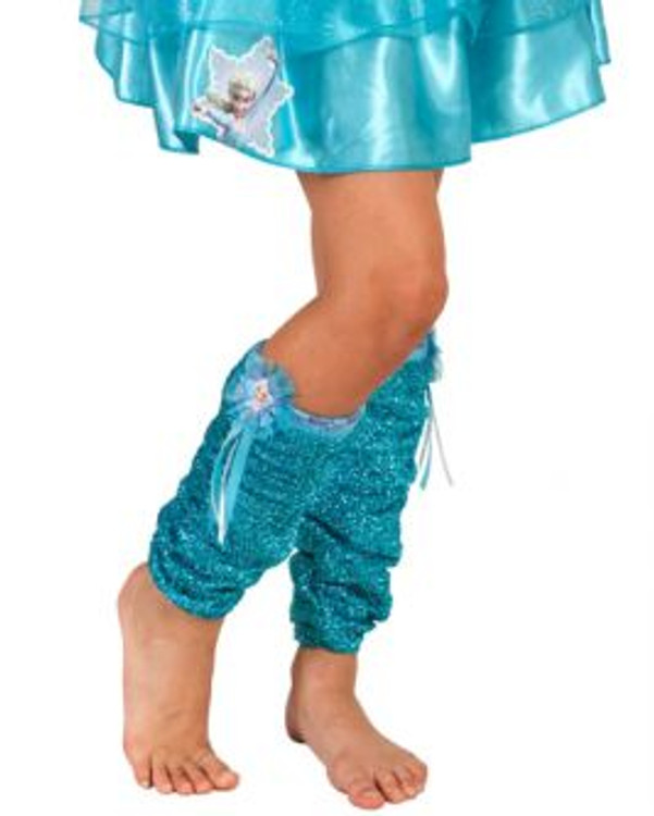 Frozen Elsa Girls Leg Warmers