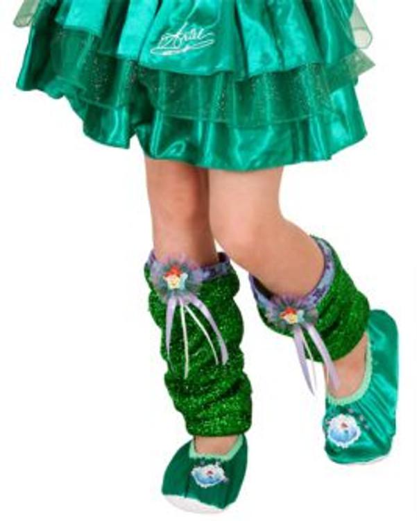 Little Mermaid Ariel Girls Leg Warmers