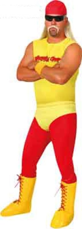 Wrestler Hogan  Mens Costume