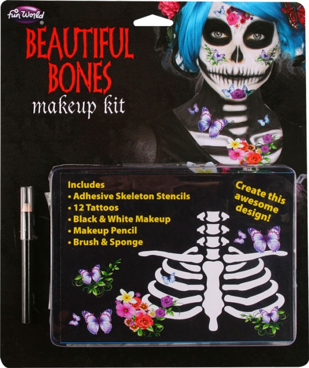 Bones Make Up Kit - Beautiful Bones