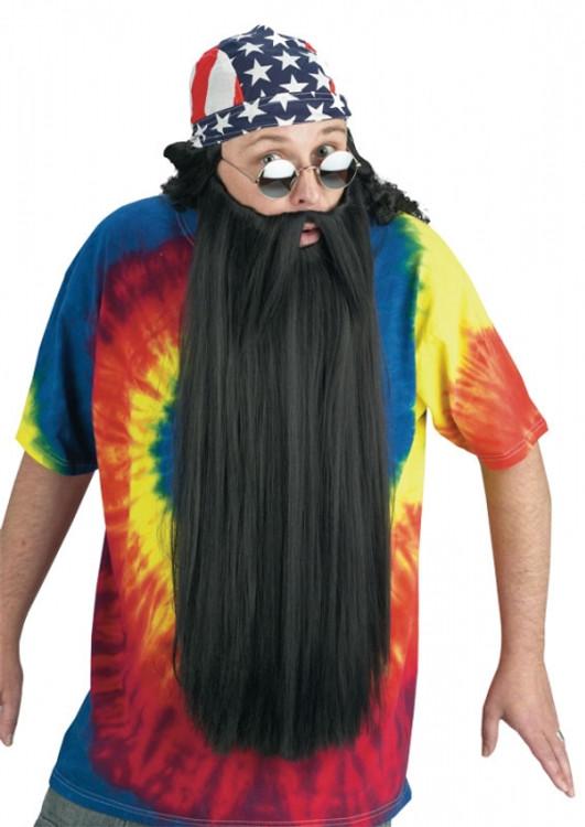 Beard Extra Long  Black