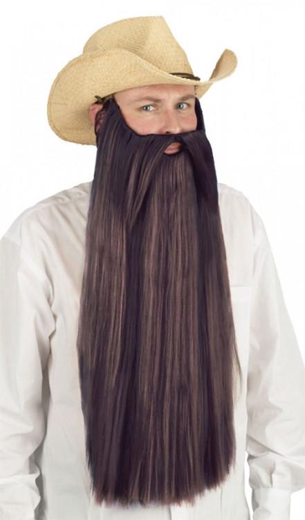 Beard Extra Long  Brown