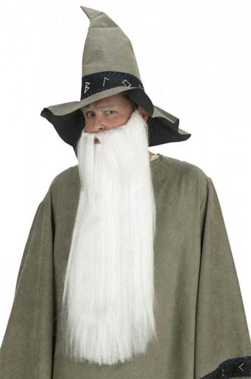 Beard Extra Long White