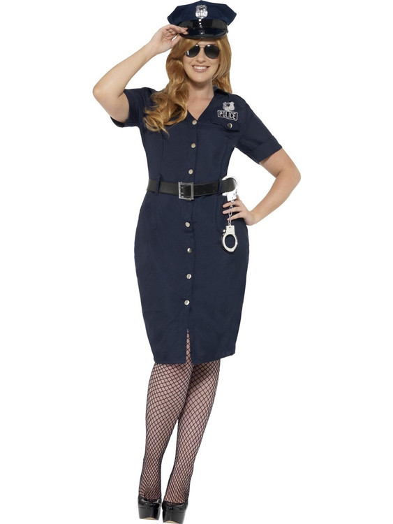 Police NYC Cop Plus Size Womens Costume