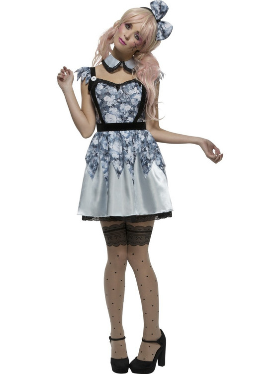 Broken Doll Annie Womens Costume