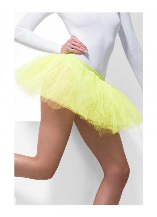 Tutu Underskirt Adult - Neon Yellow