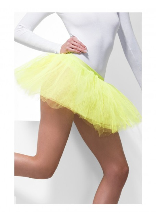 Tutu Underskirt Adult - Neon Yellow