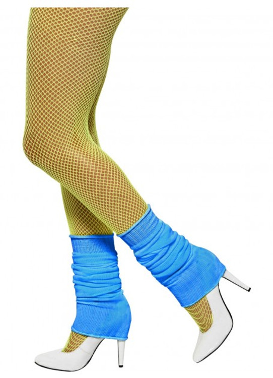 Leg Warmers Blue