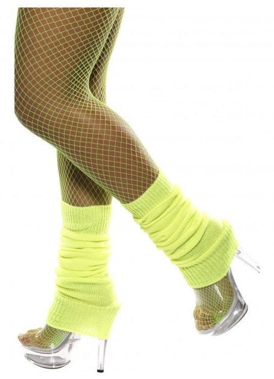 Legwarmers, Neon Yellow