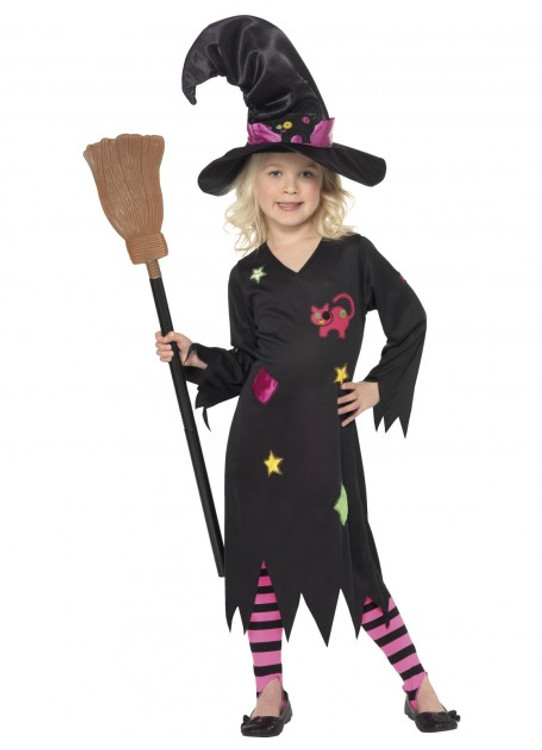 Cinder Witch Girls Costume