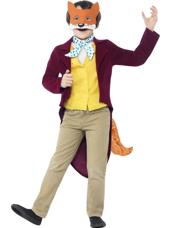 Roald Dahl Fantastic Mr Fox Kids Costume