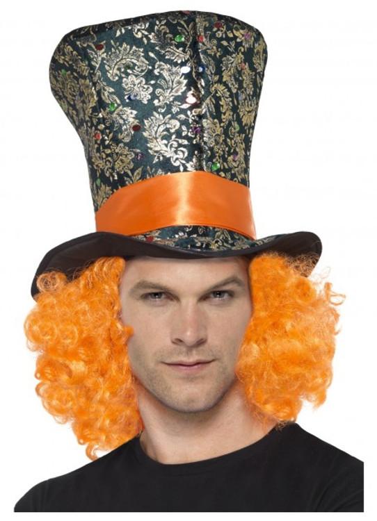 Alice in Wonderland Mad Hatter Top Hat
