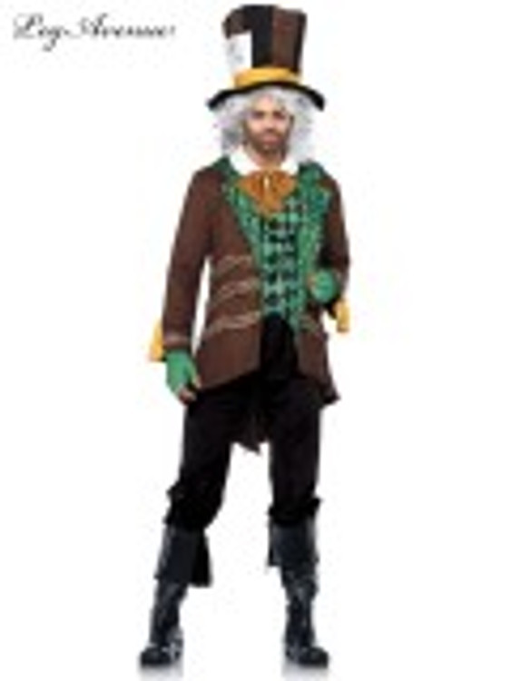 Alice In Wonderland Mad Hatter Men's Costume