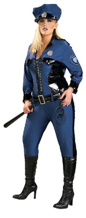 Policewoman Lady Justice Costume