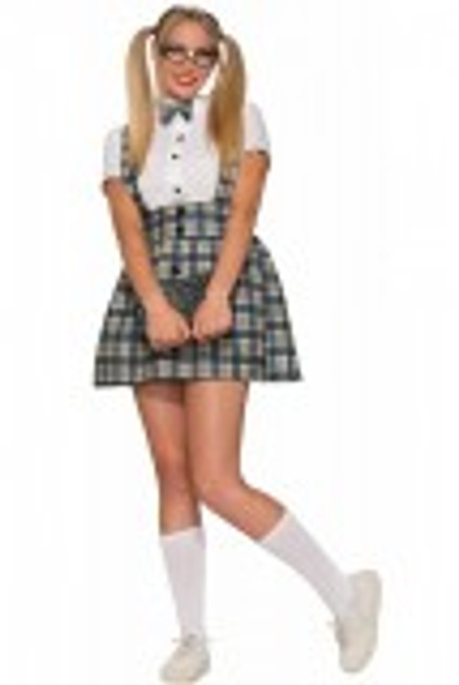1950's Nerd Girl Womens Costume