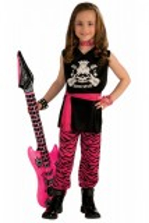 1980's Rock Chick Kids Costume