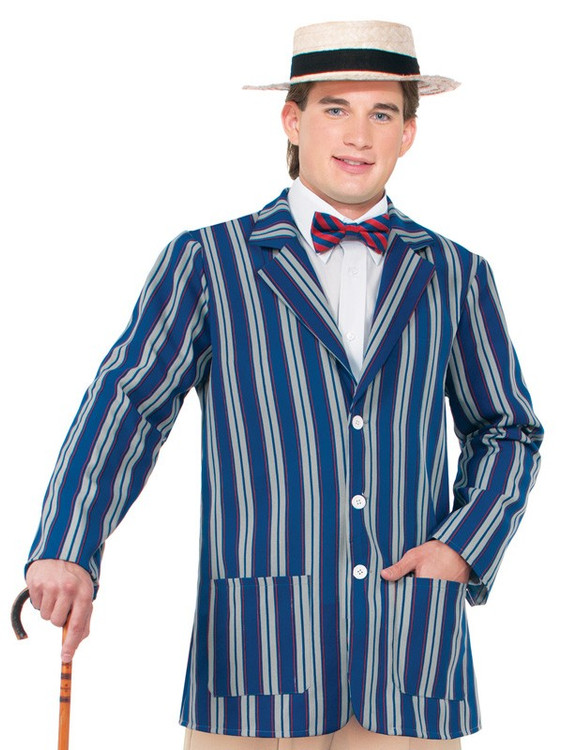 1920's Boater Jacket Mens Costume