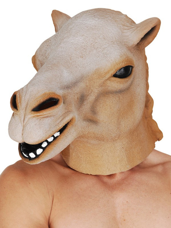 Camel Full Head Mask