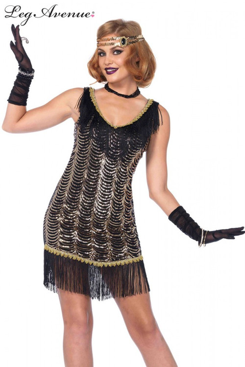 Flapper 1920s Charleston Charmer Dress