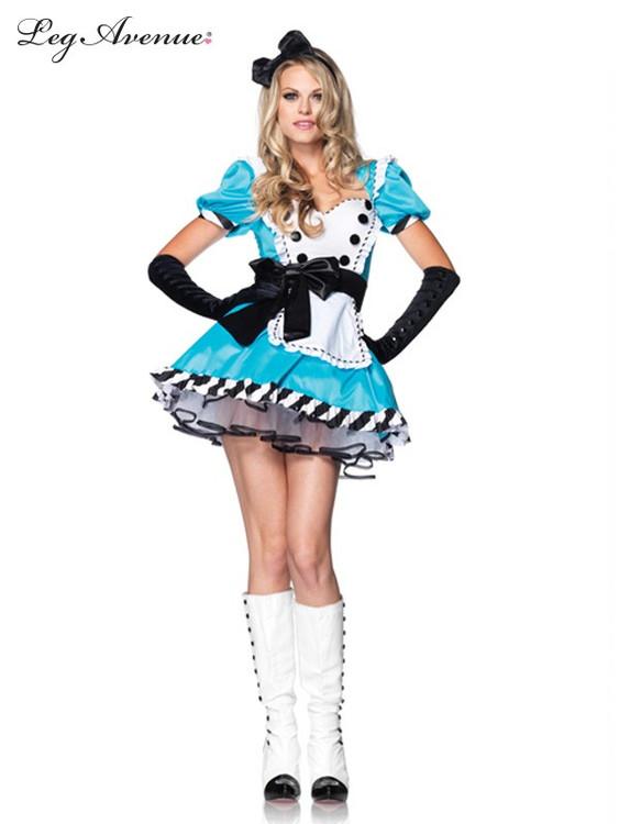 Alice in Wonderland Charming Alice Womens Costume
