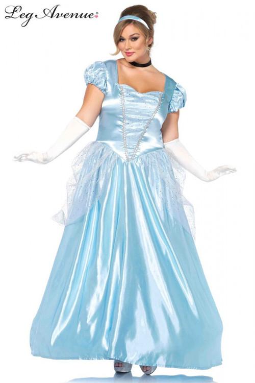Cinderella Plus Size Womens Costume