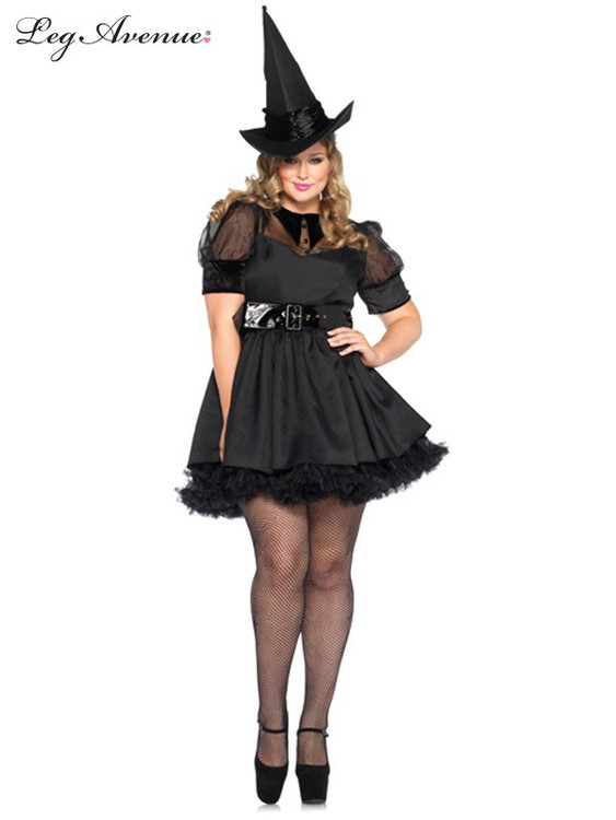 98026a1f3ee95 Bewitching Witch Womens Plus Size Costume