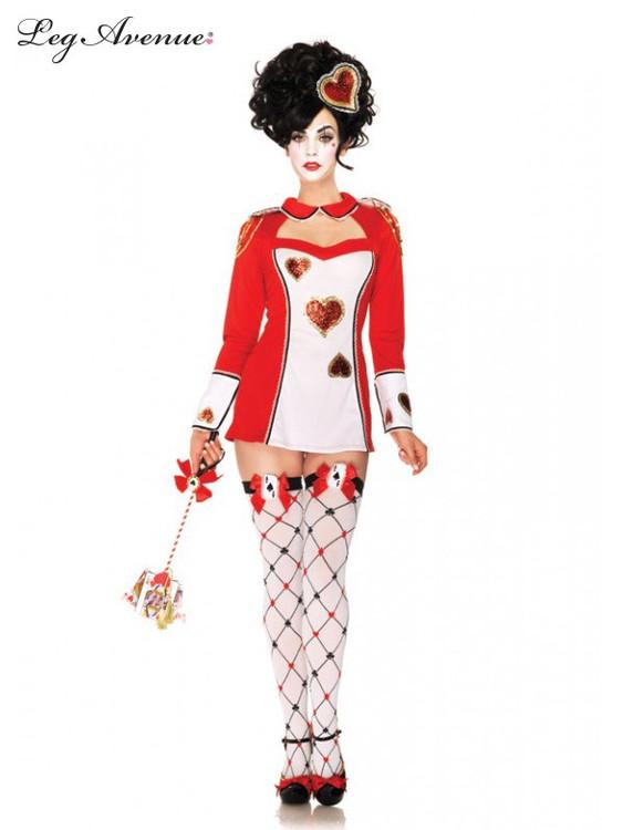 Alice in Wonderland Card Guard Womens Costume