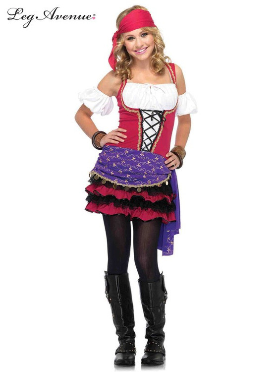 Gypsy Crystal Ball Girls Costume