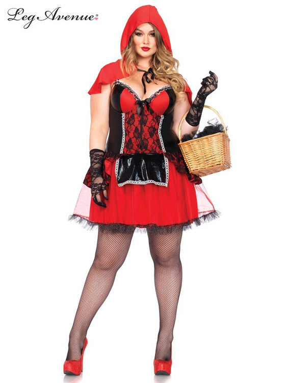 Red Riding  Plus Size Womens Costume