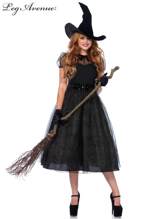Witch Darling Spellcaster Plus Size  Womens Costume