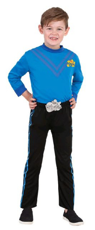 Wiggles Anthony Blue Kids Costume