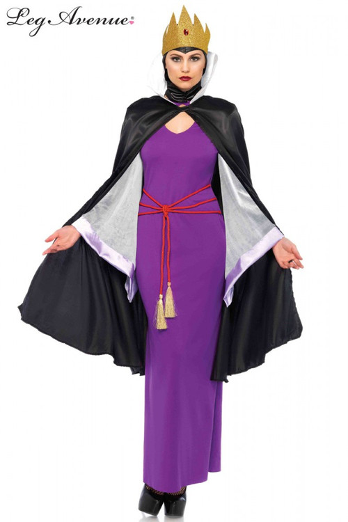 Deadly Dark Queen Womens Costume