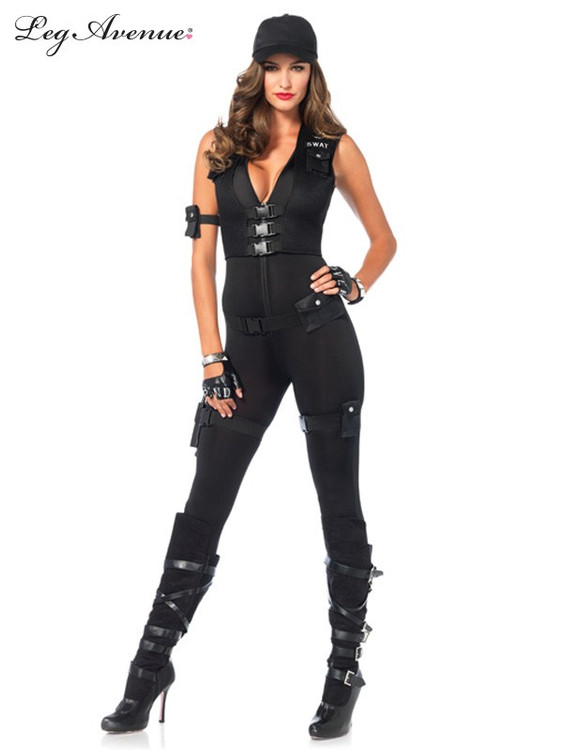 SWAT Commander Womens Costume
