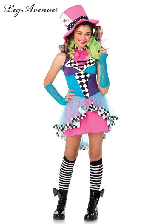 Alice in Wonderland Mayham Hatter Tween Costume