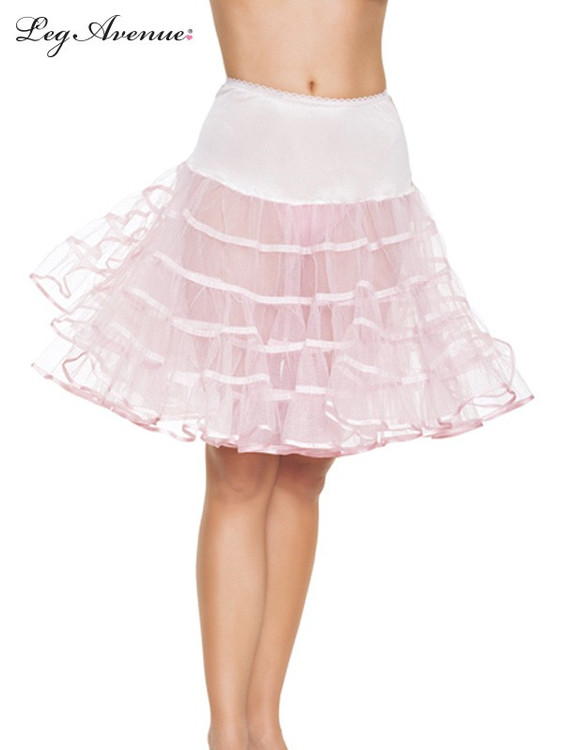 Petticoat Mid Length Pink