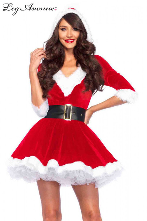 Mrs Claus Red Womens Costume