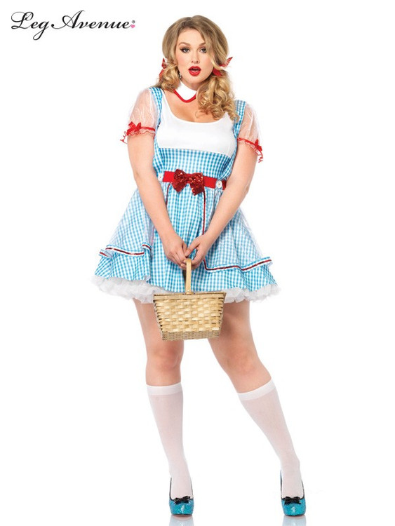 Wizard of Oz - Dorothy OZ Beauty Plus Womens Costume