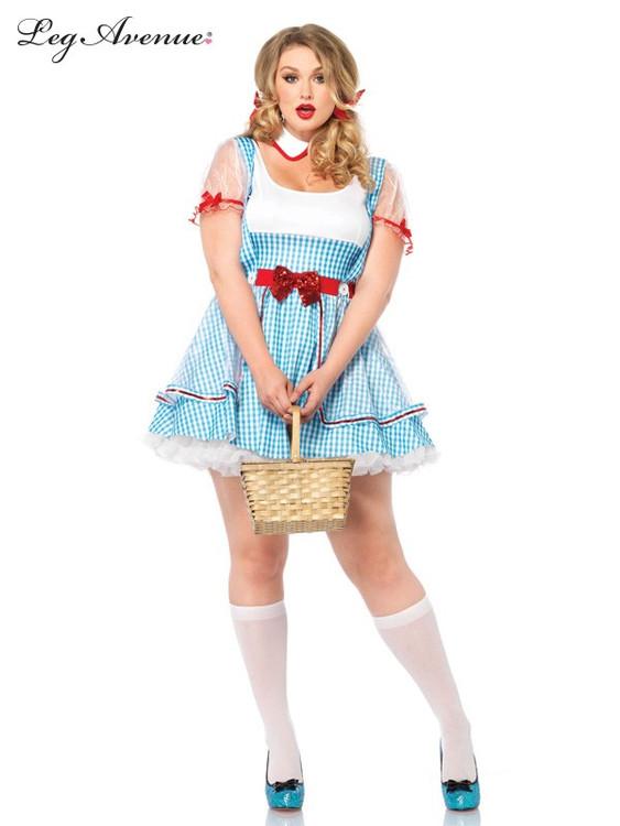 Wizard of Oz - Dorothy OZ Beauty Plus Womens Costume